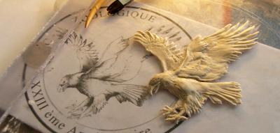 Création et fabrication sur mesure de médailles en bronze massif