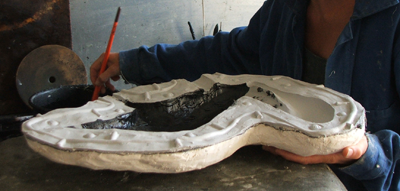 Fabrication tirage d'une oeuvre d'art sculptée en bronze