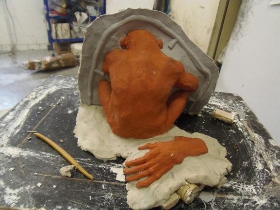 Moulage sculpture pour fonderie d'art